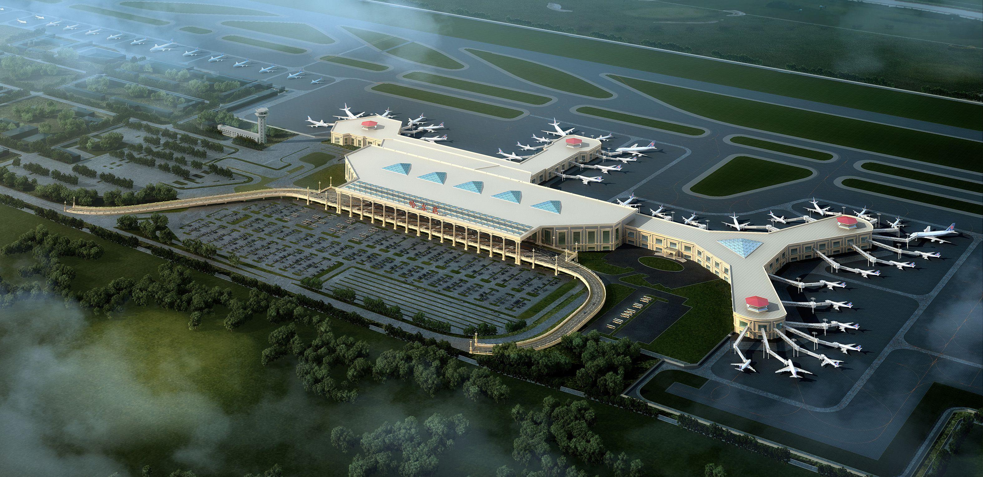 黑龙江省建筑设计研究院作品哈尔滨太平国际机场改扩建工程 黑龙江省